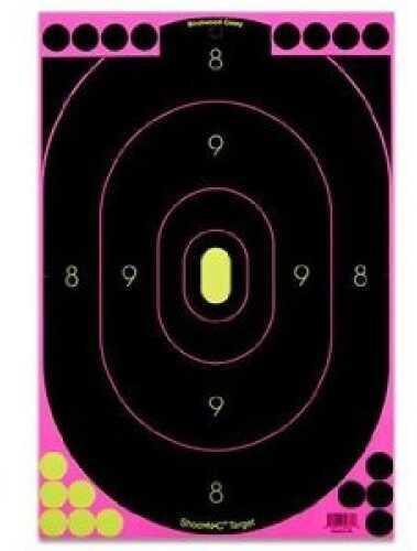"Birchwood Casey Shoot-N-C Targets: Silhouette 12"" x 18"" (Pink) 34635"