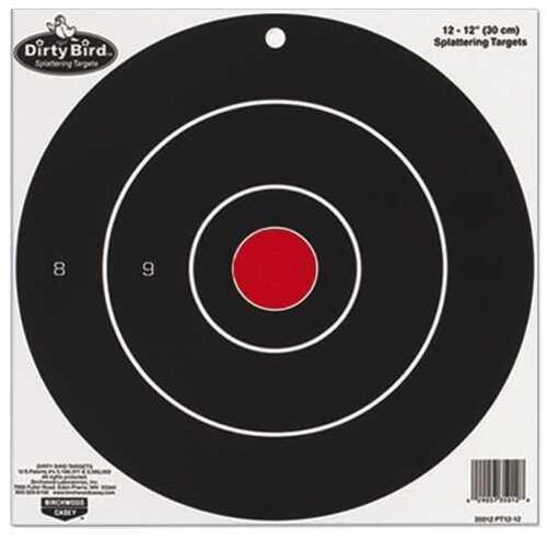 "Birchwood Casey Dirty Bird Paper Targets 17.25"" Round Splattering Target 35185"