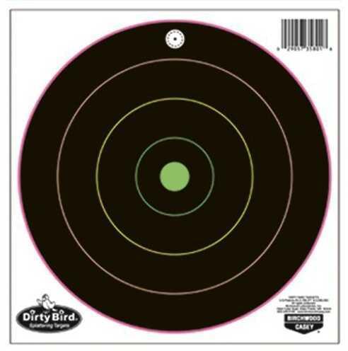 "Birchwood Casey Dirty Bird Multi-Color Target 8"", (Per 20) 35820"