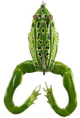 "Okuma Sav 3d Al Frog 2.25"" 1Pk Grn Leoprd"