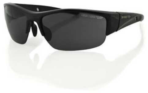 Bobster Eyewear Bobster Ryval Street Sunglasses Gloss Black Frame Smoked Lens