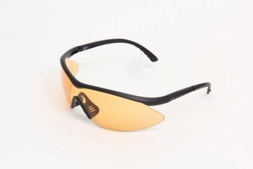Edge Safety Eyeware Edge Eyewear Fastlink Black / Tiger's Eye Lens Md: XFL610