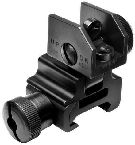 NcStar AR15 Flip Up Rear Sight MARFLR