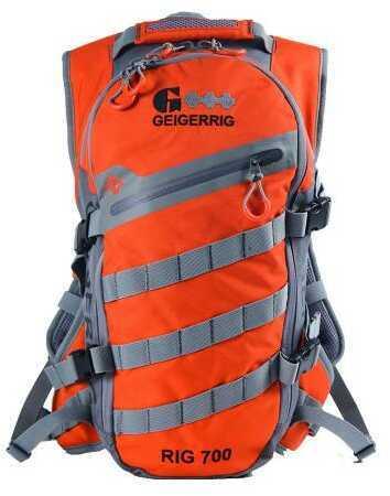 Aquamira Geigerrig Rig 700 Hydration System 70 oz. Orange/Gunmetal