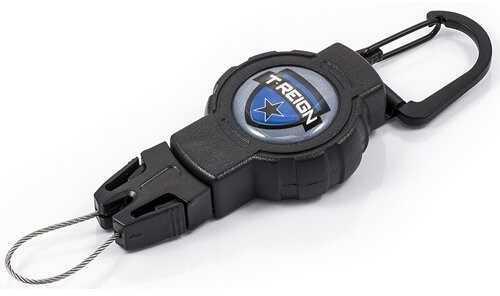 T-Reign Retractable Gear Tether Otdr Sres LrgXtrDty Crbnr Bk 0TRG-441
