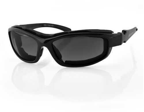 Bobster Eyewear Bobster Road Hog II Convertible Black Frame 4 Lenses