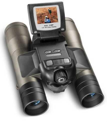 Barska Optics 8x32mm, Point 'n View 8.0MP, Binoculars and Camera Md: AH11410