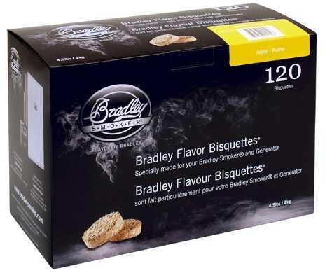 Bradley Technologies Bradley Alder Bisquettes 120-Pack BTAL120