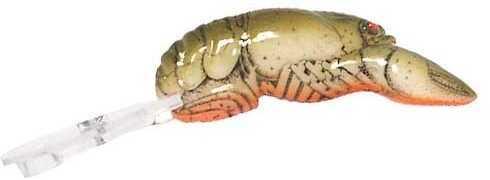 Pradco Lures Rebel Deep Teeny Wee Crawfish 1 1/2in 1/9oz Chartreuse/Brown D7760