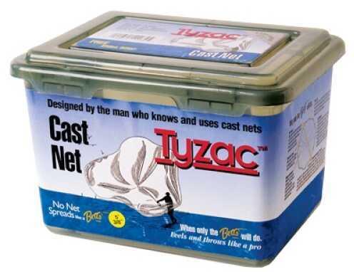 Bett's Betts Tyzac 3 Foot Nylon Cast Net 3/8 Inch Mesh Mn# N3
