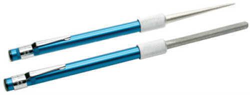 Smith's Abrasives Diamond Retractable Sharpener Tapered round diamond coated rod for sharpening serrations - Half-roun DRET