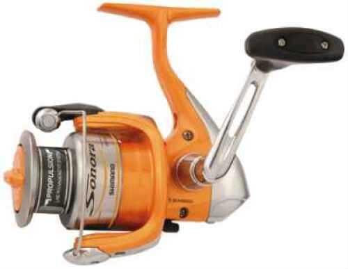 Shimano Sonora Reel (Orange) Spin 4+1rb 6.2:1 120/10# Size 2500sz SON2500FB