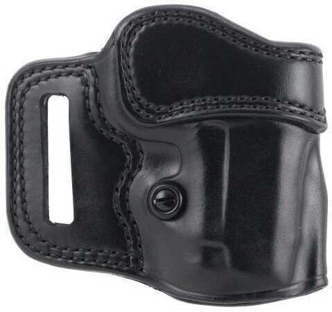 """GALCO Avenger Belt Holster Right Hand Leather 1911 3"""" Black"""