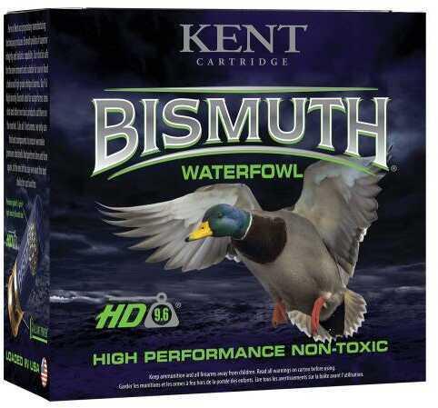 "Kent Cartridge B123W404 Bismuth High Performance Waterfowl 12 Gauge 3"" 1-3/8 oz 4 Shot 25 Bx"