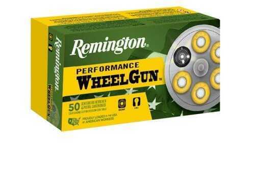 Remington Ammunition RPW357M5 Performance WheelGun 357 Magnum 158 Grains  Lead Semi-Wadcutter 50 Bx/ 10 Cs