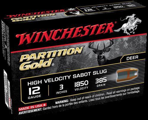 """Winchester 12 Gauge 12 Gauge, 3"""", 385gr., (Per 5) SSP123"""