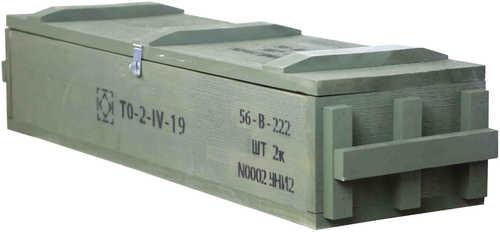 Crickett KSA808 Authentic Mini Storage Crate Wood Forest Green
