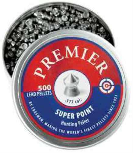 Crosman .177 Caliber Soft Point Pellets/500 Pack Md: LSP77
