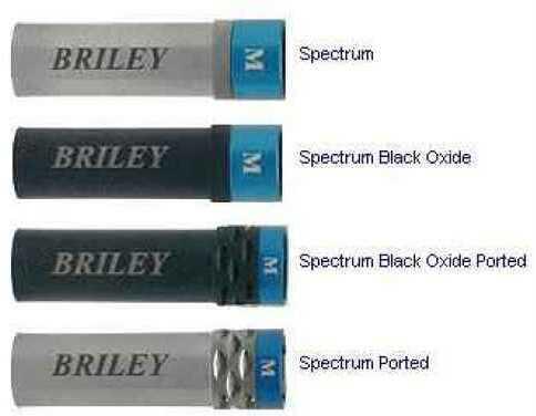 Briley 12ga Choke Tube Extended Spectrum / INV + Improved Cylinder Md. SPMCH1