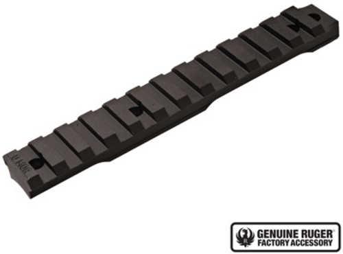 Ruger 90673 Precision Rimfire 0 MOA Picatinny Aluminum Black Hard Coat Anodized