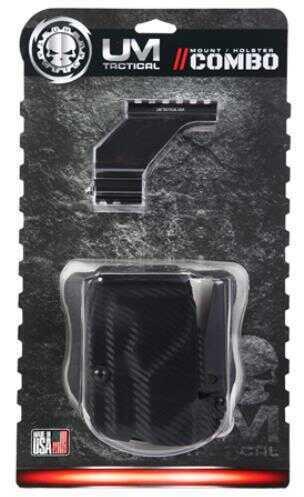 UM Tactical Umlhcpk Um3 Mount And Holster Combo Universal Handgun Various Blk