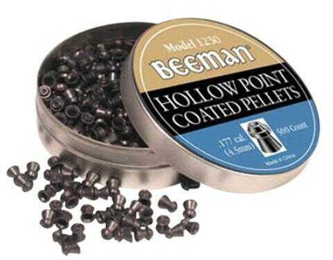 Beeman 1230 Hollow Point Pellets .177 500