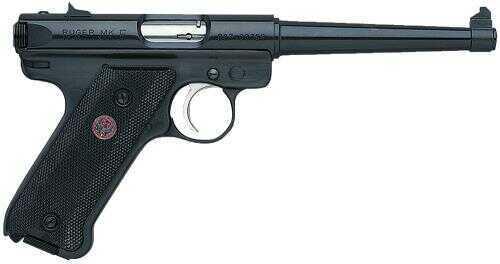 "Ruger Mark III MKIII6 22 Long Rifle Pistol 6"" Blued Barrel 10 Round 10105"