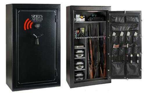 Sports Afield 7240 SA7240 60+8 Gun Safe Black
