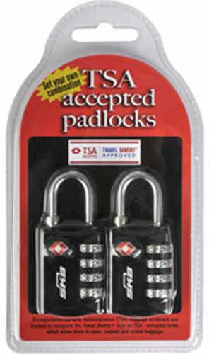 TSA Combination Padlock, TSA Accepted, 2 Pack Md: 1SKBPDL