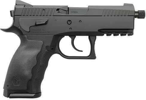 "Pistol KRISS Sphinx Compact 9mm Luger 15 Rounds 3.75"" Threaded Barrel Black"