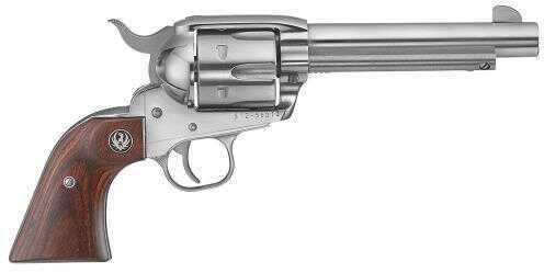 "Ruger Vaquero 45 Colt 5.5"" Barrel Stainless Steel 6 Round Revolver 5104 KNV-455"