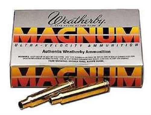 Weatherby Unprimed Brass For 375 20/Box Md: BRASS375