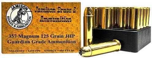 Jamison 357 Magnum Ammo 125Gr 20 Rounds