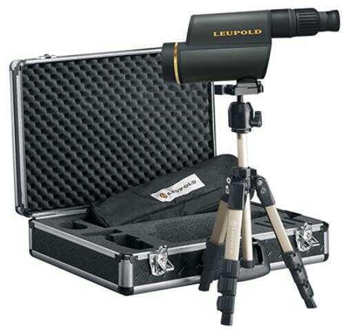 Leupold Golden Ring 12-40x60 HD Gray Spotting Scope Kit