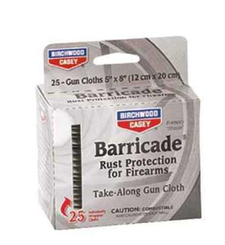 Birchwood Casey Barricade Rust Preventive 25 Take Along Packets 33025