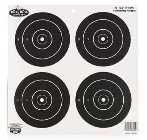 "Birchwood Casey Dirty Bird Paper Targets 5.5"", Round, (12 Pack) 35504"