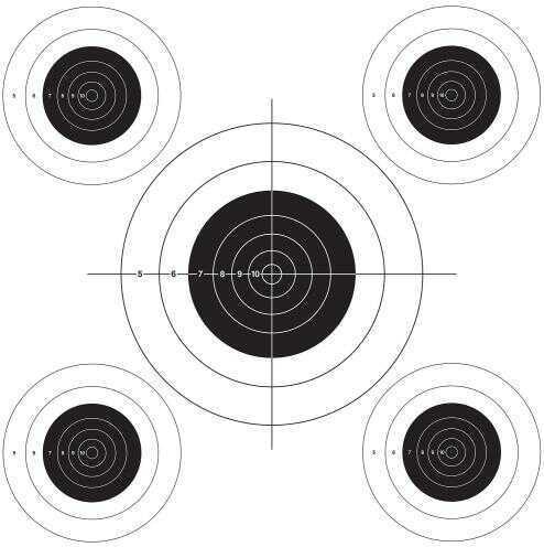Lyman 4320075 Bullseye Target Roll 1