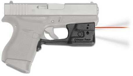 Crimson Trace Ll803 Laserguard Pro Glock 42/43 Red Laser Trigger Guard