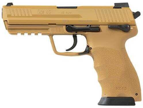 Heckler & Koch HK45 45 ACP Tan 3-10 Round Magazines Semi Automatic Pistol 745001Barrel EA5