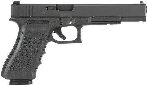 "Glock 17L 9mm Luger 6"" Barrel 17 Round Double Action Long Slide Black Semi Automatic Pistol PI1630103"