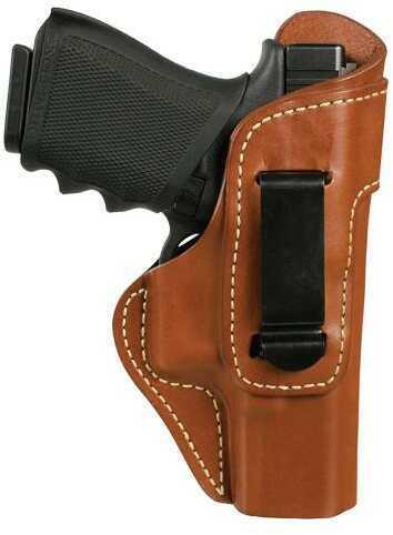 BlackHawk 421404bnr Inside The Pants Clip Holster Glock 26/27 Leather Brown