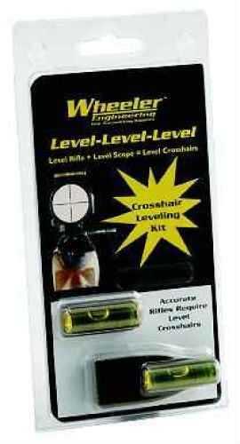 Wheeler Level-Level-Level Scope Leveler Black 113-088
