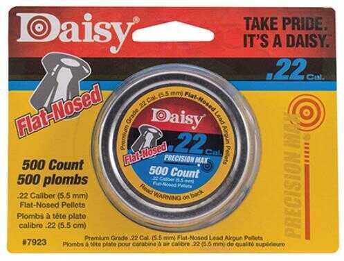 Daisy Outdoor Products Daisy 22 Caliber 14 Grain Flat Nosed Air Gun Pellets, Tin Of 500