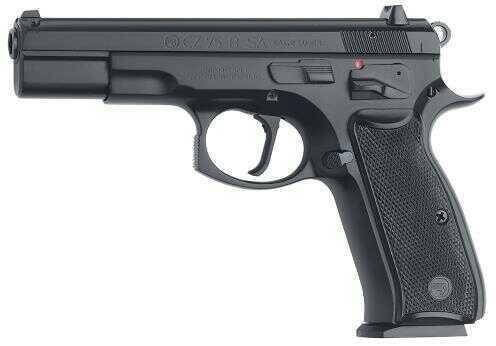 "CZ 75-B 9mm Luger 4.7"" Barrel 10 Round Black Semi Automatic Pistol 01150"