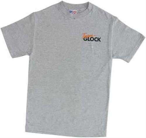 Glock Medium Short Sleeve T-Shirt Grey Md: TG50008 TG50008