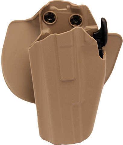 Safariland GLS Pro-Fit Holster Left Hand Flat Dark Earth Brown Md: 578-683-552 578683552
