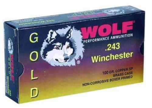 Wolf Performance Ammo Wolf 300 Winchester Magnum 165 Grain Jacketed Soft Point Ammunition Md: G300WSP1