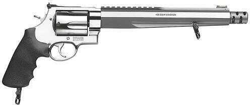 Smith & Wesson M460XVR 460 S&W Magnum Hogue Rubber Grip Stainless Steel 5 Round Revolver 170262