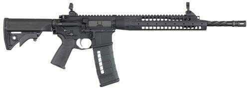 "Rifle LWRC SIX8 A5 Semi-Auto Rifle 6.8mm Rem SPC II 16.1"" Barrel 30 Rounds Adjustable Black Stock"