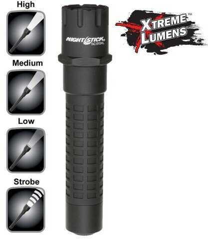 Bayco Tac510xl Xtreme Lumens Tactical Flashlight 800/350/140 Lumens Cr123a Lithium (2) Black/purple